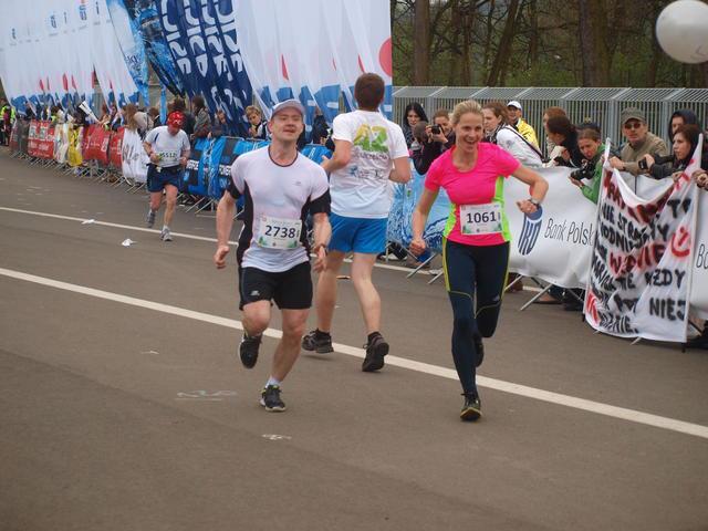 pierwszy maraton
