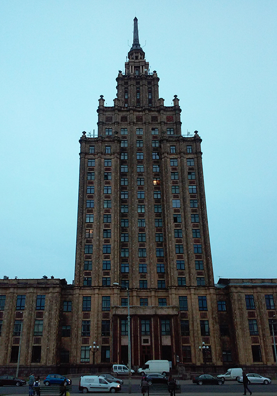 Pałac Kultury i Nauki w Rydze