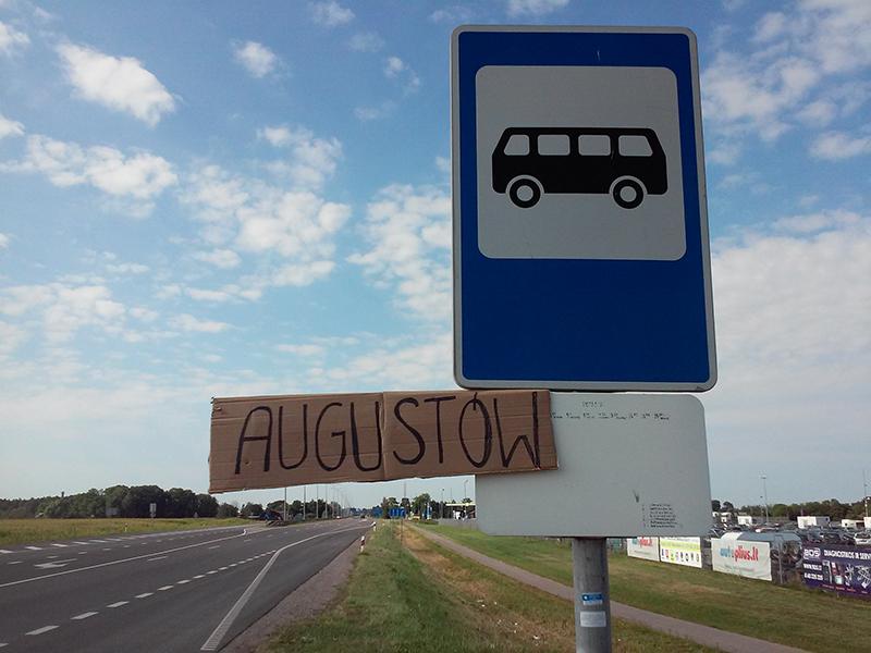 autostopem na Litwę i Łotwę