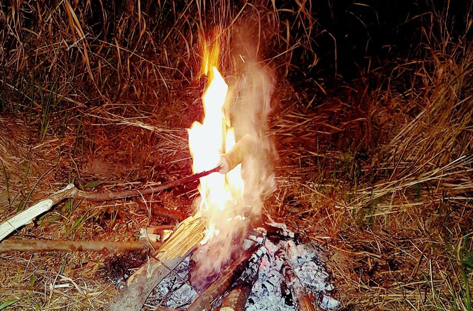 Kiełbaska z ogniska