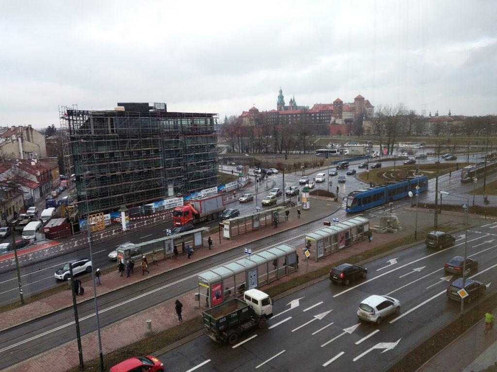 ruch w mieście Kraków